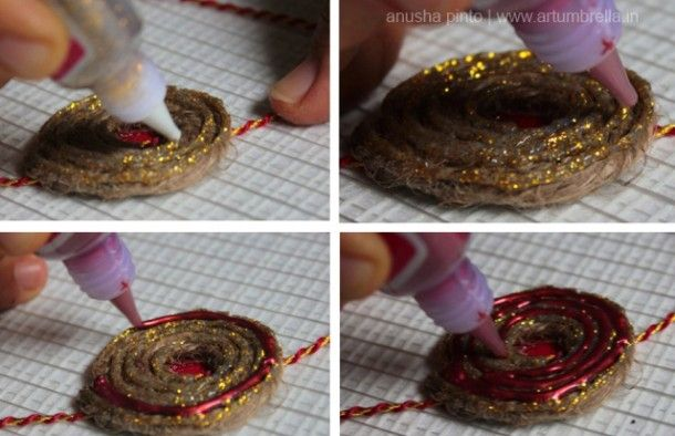 #DIYRakhi for the brother you love #Rakshabandan