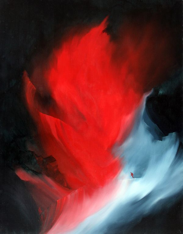 Jean-Georges INCA - Ice and Fire serie by Greg Bot, via Behance http://www.artiane.com/jean-georges-inca/
