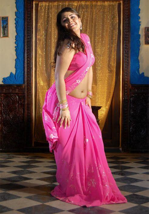 Actress Farzana Saree Below Navel show Photos | SAREE BEST