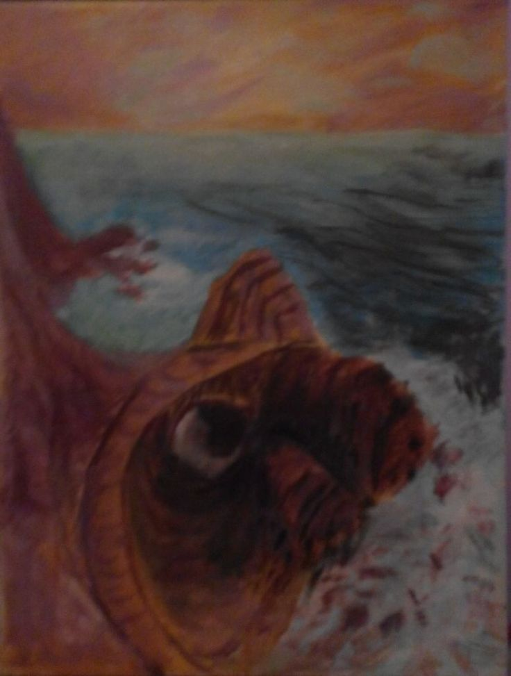 my first painting, when I was 14 years old!