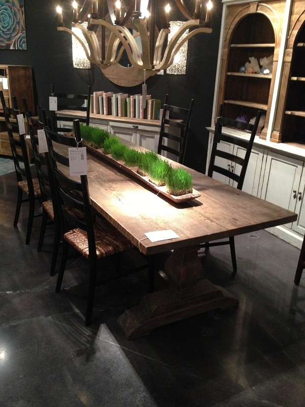 Beautiful Long Dining Table Made Of Wood By Four Hands Furniture