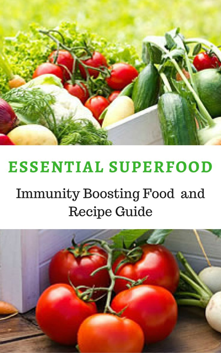 Essential Superfoods / Healthy recipes for when you are sick / Immune Boosting Foods and Recipe Guides / Click for Recipe Guide