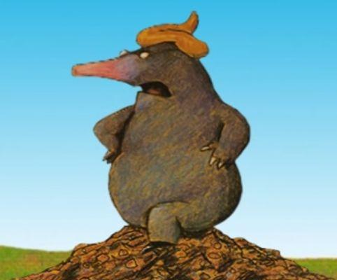 Bekijk het filmpje: Over een kleine mol die wil weten wie er op zijn kop gepoept heeft. Kinderfilmpjes, afleveringen en kinderliedjes op Minipret.nl
