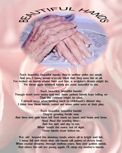 Beautiful Hands Poem 90