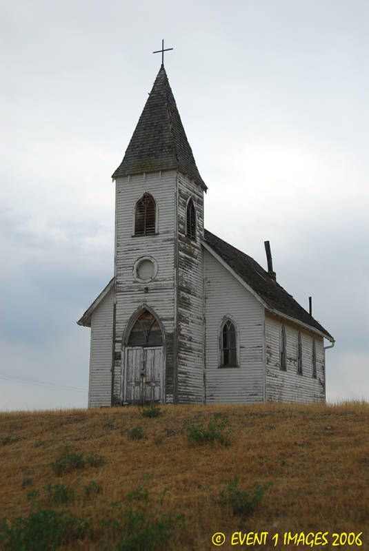 Old Church.  I wish the walls could tell us all that happened there.  I'm sure life was very different then!