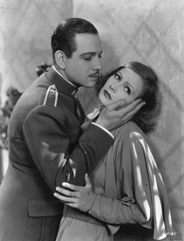 """Melvyn Douglas y Greta Garbo en """"Como tú me deseas"""" (As You Desire Me), 1932"""