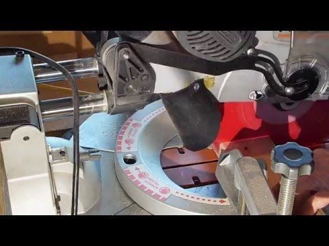 (6) Ridgid Miter Saw Dust Collection Upgrade - YouTube