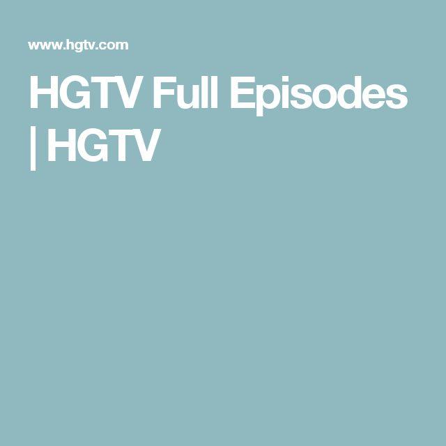 HGTV Full Episodes | HGTV http://atvnetworks.com/index.html