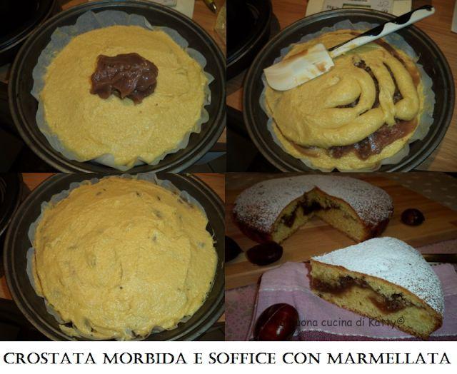 La buona cucina di Katty: Crostata morbida e soffice con marmellata di castagne e marrons glaces