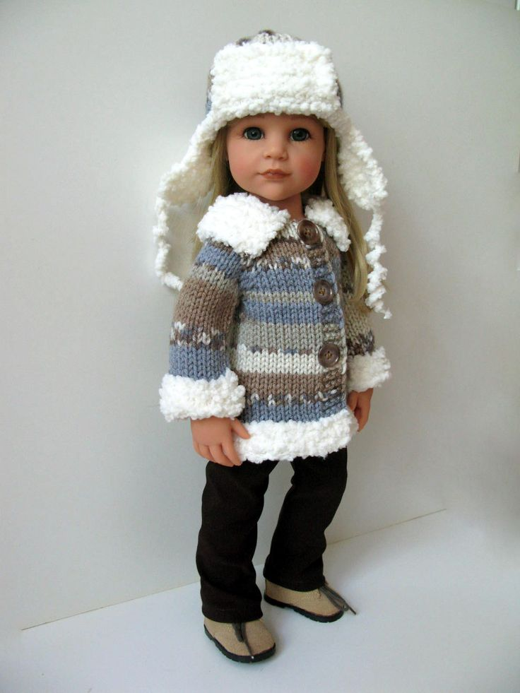 Knitting Pattern Russian Hat : 17 Best images about Gotz Doll Fashion on Pinterest Ribs, Cheer and Tunics