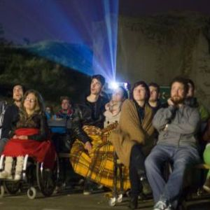 A Night Projection fényfestés képes magával ragadni minden szemlélődőt.