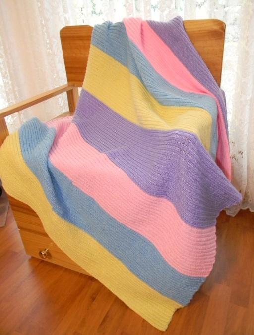 French Knitting Rug : French knitting rug a circular one like crochet rag