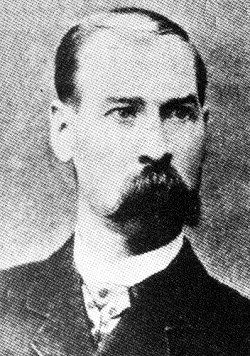 James Earp (June 28, 1841 Hartford, Kentucky – January 25, 1926 Los Angeles, California) - Soldier, saloon-keeper, and deputy marshal in Dodge City, Kansas, under Marshal Charlie Bassett.     *3rd oldest Earp - I can't find a pic of Newton, or Mariah   :(