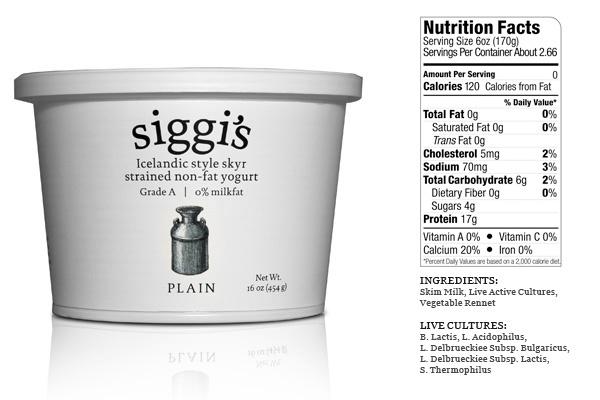 Siggis Icelandic Skyr -- Healthiest yogurt on earth: Food Recipes, Workout Food, Healthy Eating, Protein Rich, Iceland Skyr, Iceland Yogurt, Fed Cows, Grass Fed, Greek Yogurt