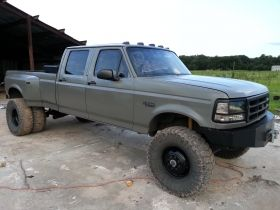 1995 F350 Powerstroke CCLB Dually 4x4 /   Diesel Trucks For Sale