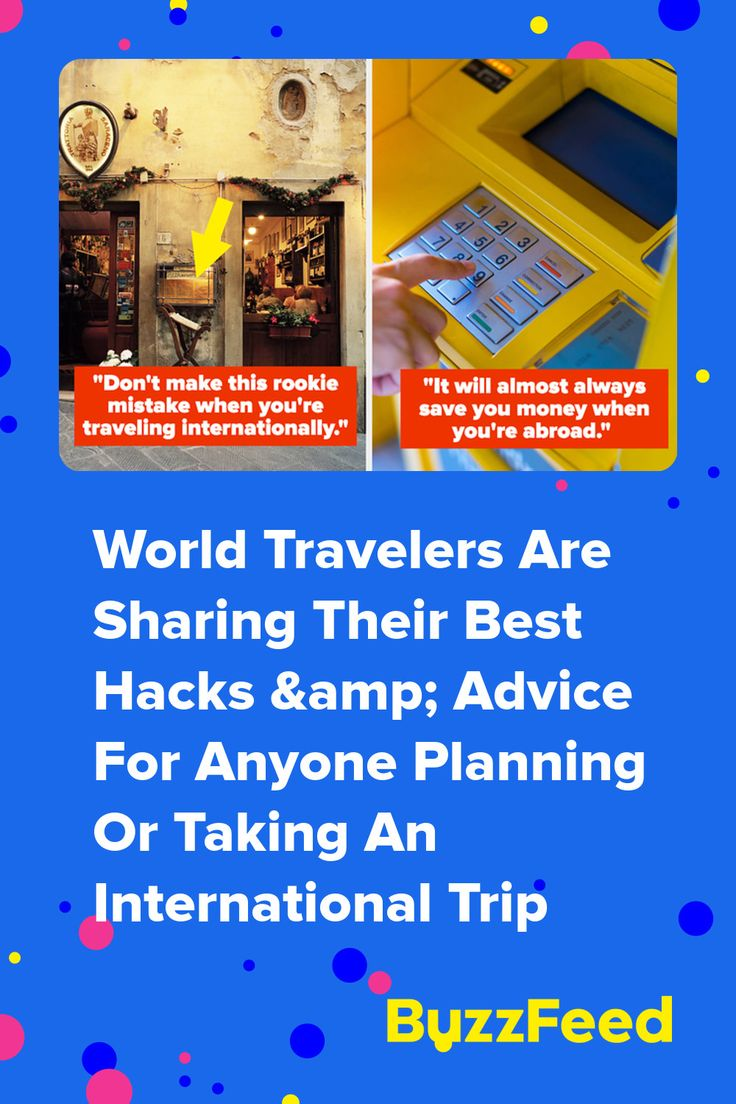 20 Tried And Tested International Travel Tips, Habits, And Hacks ...