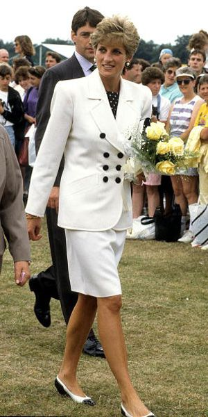 Princess Diana at Federation Cup Tennis Ceremonies - July 1991   She was such a beauty, and Charles was just a homely geek!