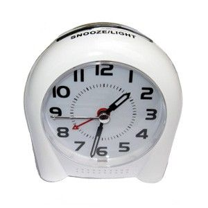 Low-EMF analogue alarm clock