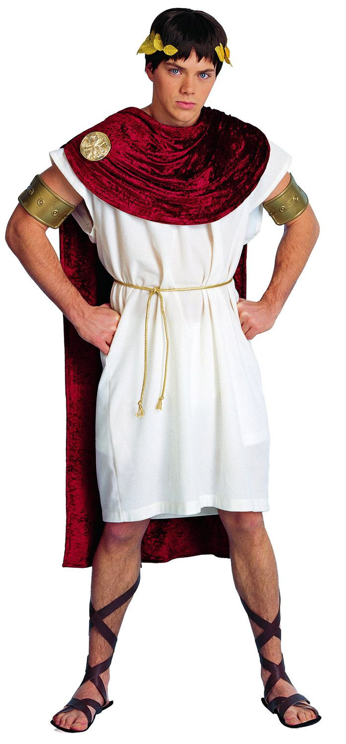 greek attire | Home >> Toga Costumes >> Mens Spartacus Greek Adult Costume | World traditional ...