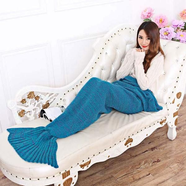 Check this out! Mermaid Tail Blanket - HOT