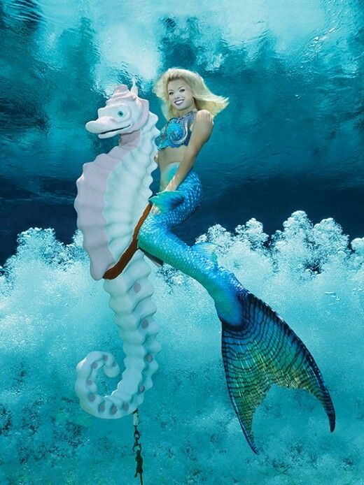 Weeki Wachee Springs Florida Realistic Silicone Mermaid