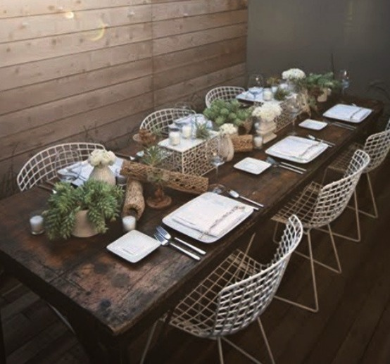 Rustic Table Setting : rustic table setting ideas - pezcame.com