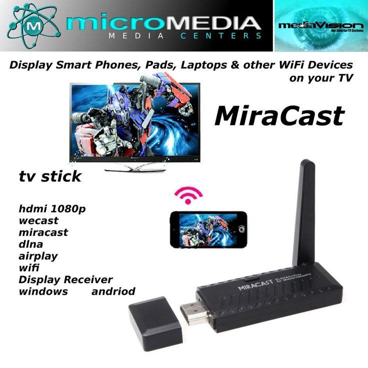 MediaVision MIRACAST 2 ChromeCast HDMI 1080 WIFI Display