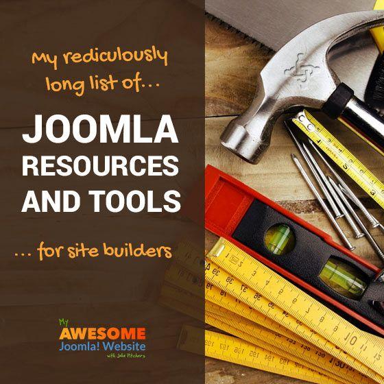 Joomla tools and resources