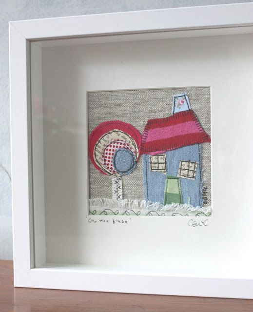 House in a frame by Smudge Illustrations