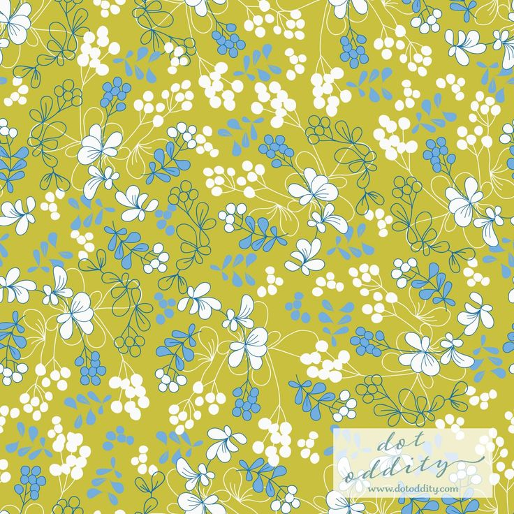 Golden Berries pattern by Maria Larsson