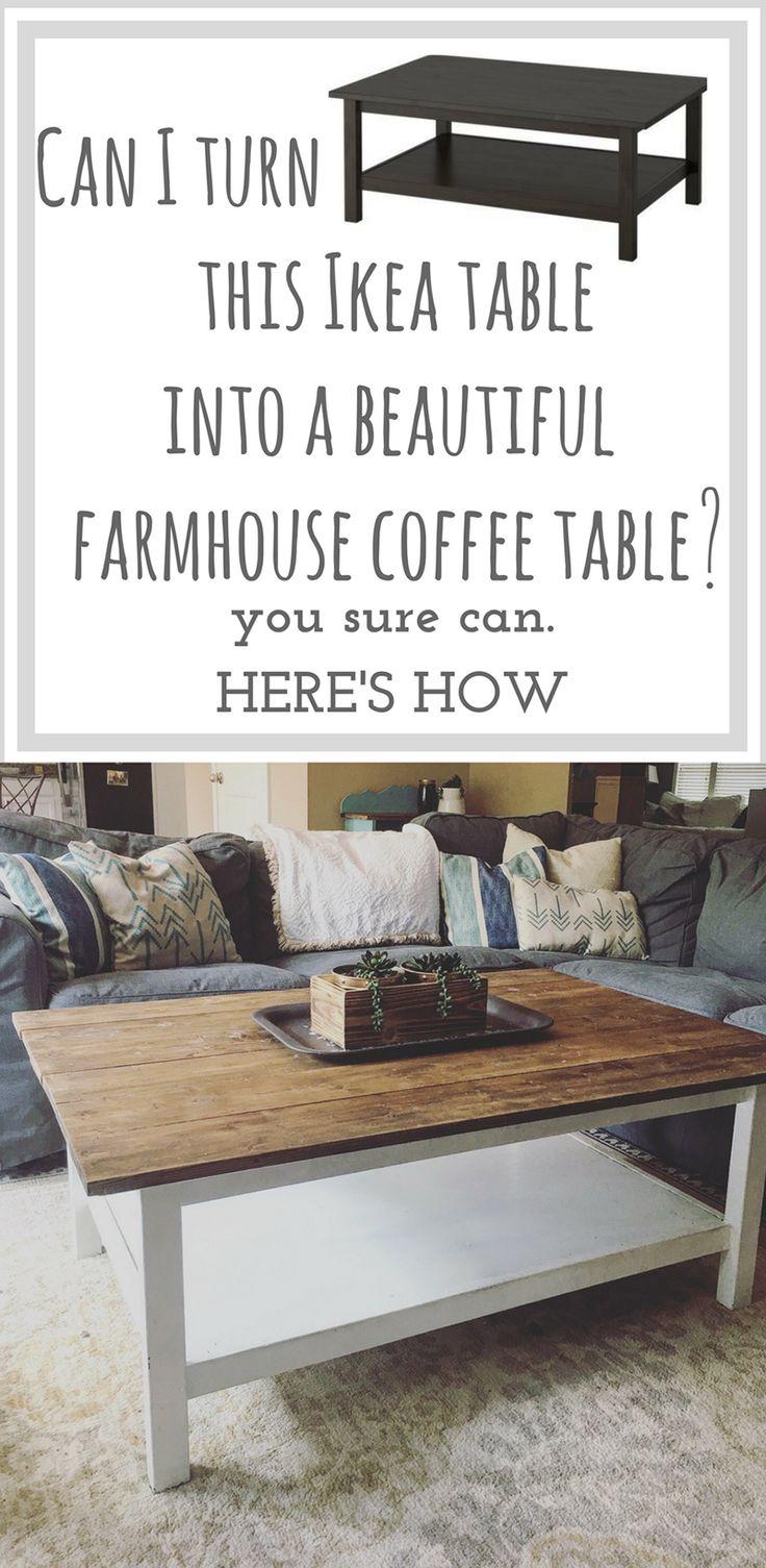 Budget Friendly IKEA Coffee Table Hacks