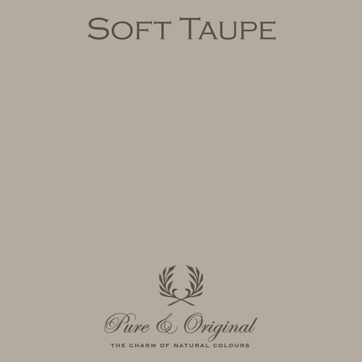 Soft Taupe | Pure & Original Paint