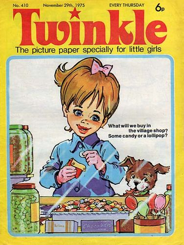 Twinkle Comic! Spent my pocket money on this and some sweets.