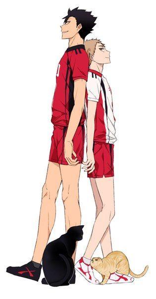 Haikyuu!! - Tetsurou Kuroo x Morisuke Yaku - KuroYaku