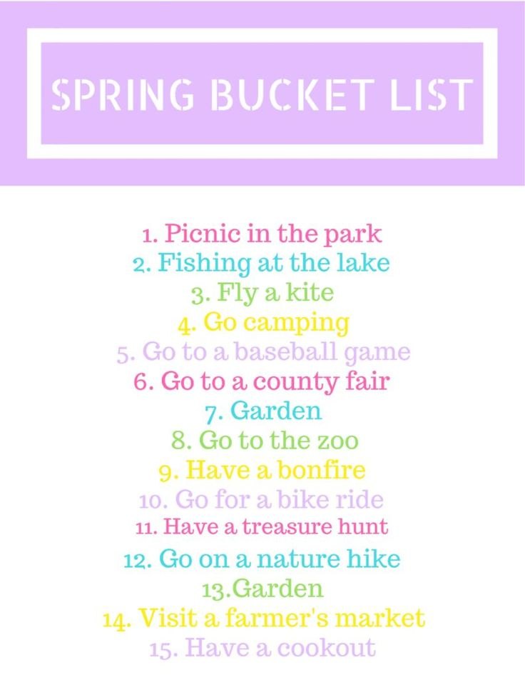 Spring Adventures with the Family + Free Printable – Blissfully Insane