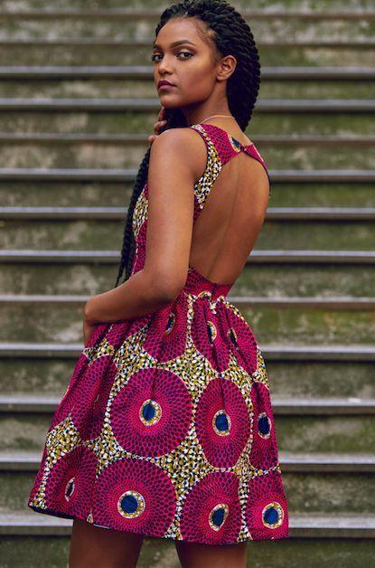 47 modèles de robes en pagne chics et tendances pour vos events !