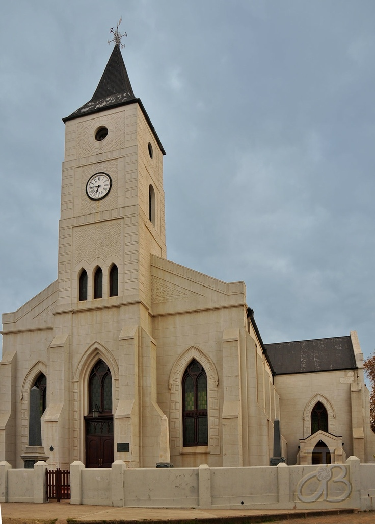 Dutch Reformed church of Philippolis, Eastern Cape, South Africa. By #PhotoJdB