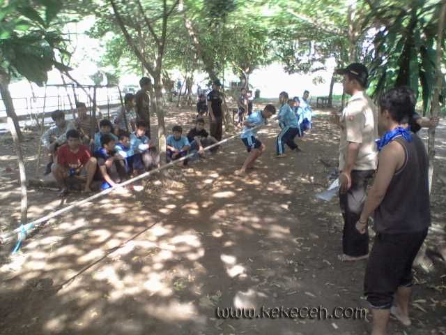 Outbound di Kebun Buah Mangunan