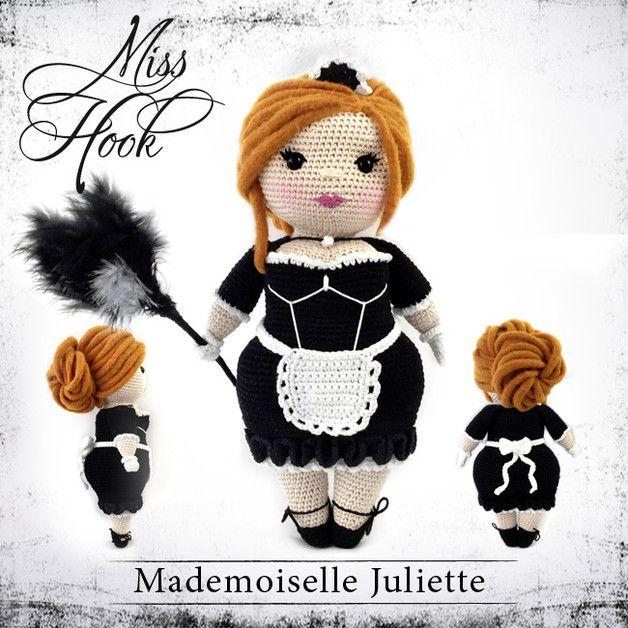 """Häkelanleitungen - Häkelanleitung Puppe """"Mademoiselle Juliette"""" eBook - ein…"""