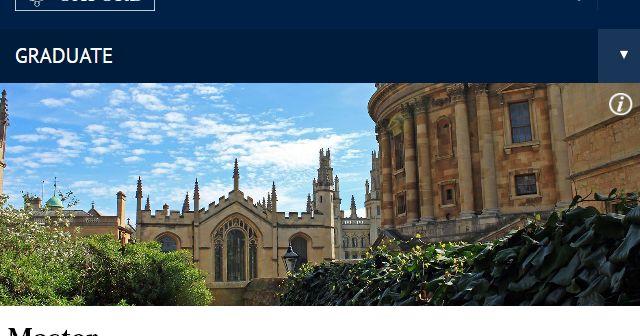 Beasiswa Master dan Doktor di Universitas Oxford