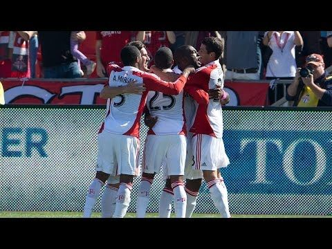GOAL: Bright Dike leads TFC to victory - February 5, 2014 - YouTube