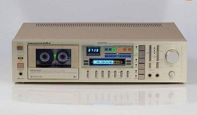 """Gefällt 631 Mal, 4 Kommentare - Vintage Audio Love (@vintageaudiolove) auf Instagram: """"Marantz SD930 Stereo Cassette Deck (1983-84) . . #VintageAudio #Audio #Vintage #turntable #phono…"""""""