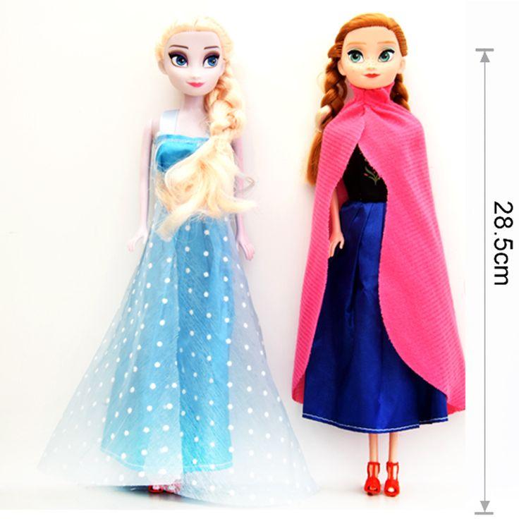 Купить товар2015 мода принцесса эльза анна кукла снежная королева детей девоч