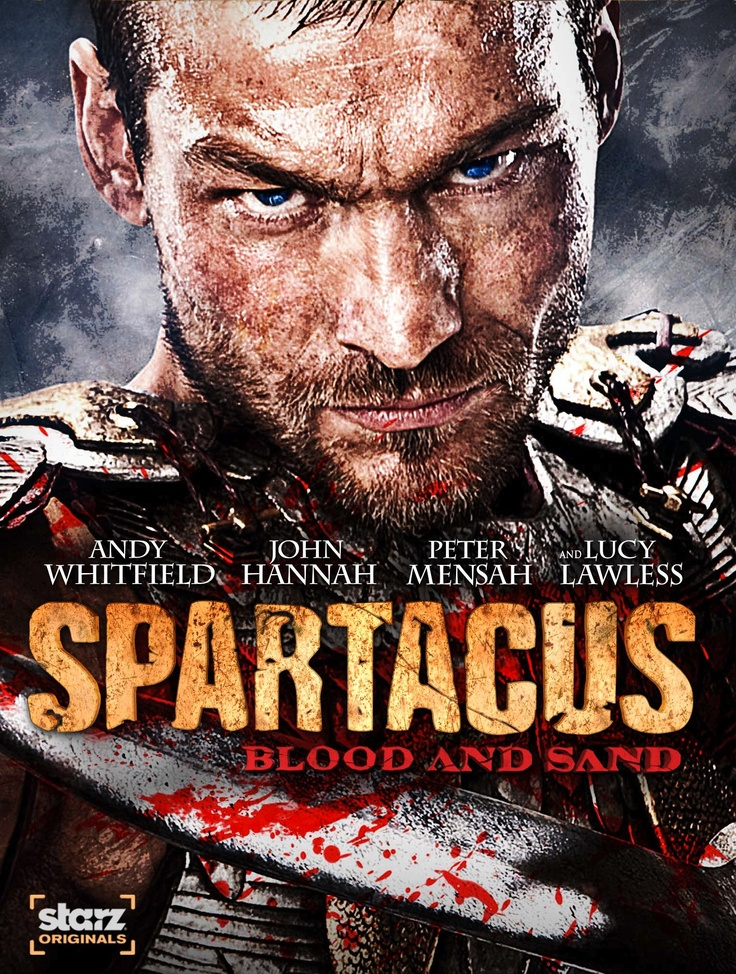 Spartacus: Blood and Sand...BEST SHOW EVER..if you can stomach it ;-)  RIP andy :-(