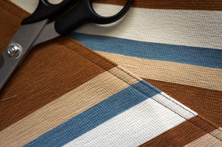 ...it's the little details:  double stitch top seam finish