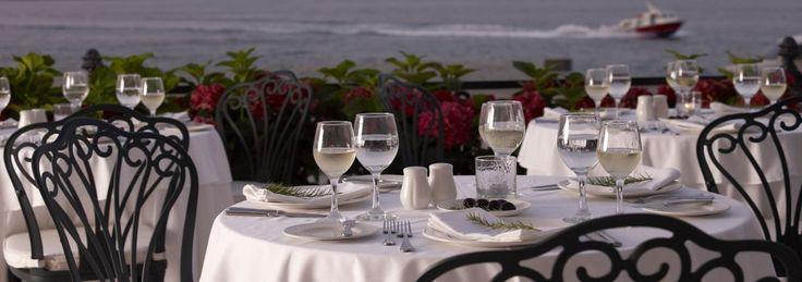 On The Verandah Restaurant | Poseidonion Hotel Spetses