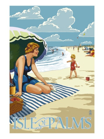 Isle Of Palms, SC   Been there & it's a great place! Anna Maria Island, FL is my # 1 place.