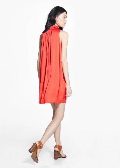 Φόρεμα φιόγκος | MANGO