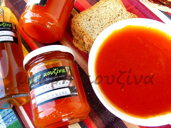 μικρή κουζίνα: Μαρμελάδα βερύκοκο