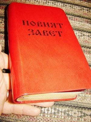 Bulgarian New Testament / Novijat Zavet / 2010 Luxury Edition, Golden Edges, Dictionary at the end